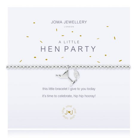 Joma Jewellery A Little Hen Party Silver Bracelet 2278