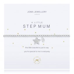 Joma Jewellery A Little Step Mum Silver Bracelet 2280