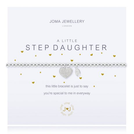 Joma Jewellery A Little Step Daughter Silver Bracelet 2281