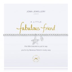 Joma Jewellery A Little Fabulous Friend Silver Bracelet 2286
