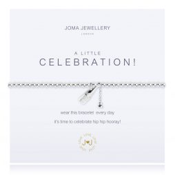 Joma Jewellery A Little Celebration Silver Champagne Bracelet 2287