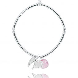 Joma Jewellery Story Silver Guardian Angel Charms Bracelet 2298