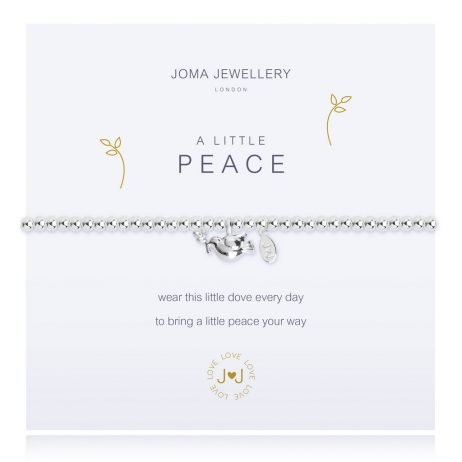 Joma Jewellery A Little Peace Silver Dove Bracelet 2374