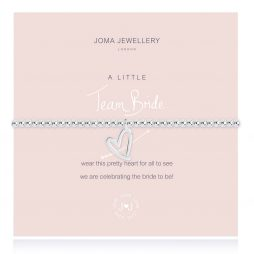 Joma Jewellery A Little Team Bride Silver Bracelet 2435