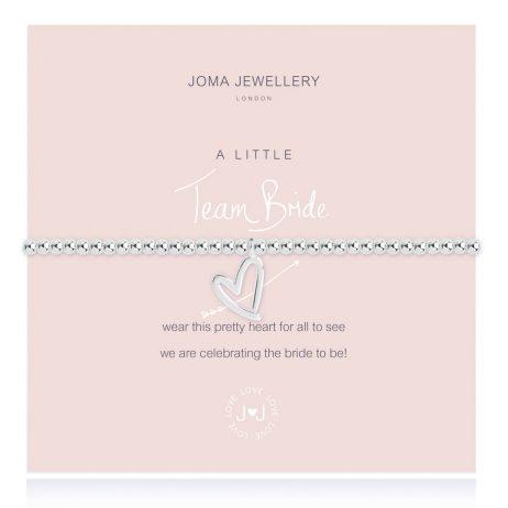 Joma Jewellery A Little Team Bride Silver Bracelet 2435