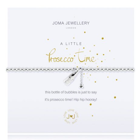Joma Jewellery A Little Prosecco Time Silver Bracelet 2436