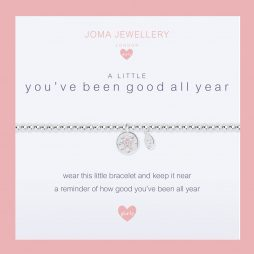 Joma Jewellery Girls A Little You've Been Good All Year Silver Bracelet C407