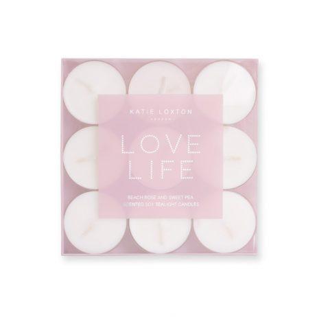Katie Loxton Love Life Tea Lights