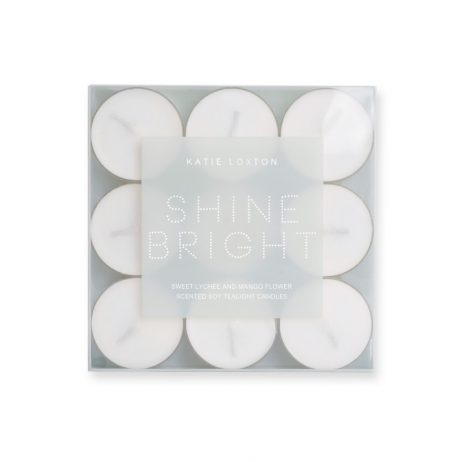 Katie Loxton Shine Bright Tea Lights