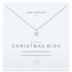 Joma Jewellery a little CHRISTMAS WISH Silver Bracelet 1484