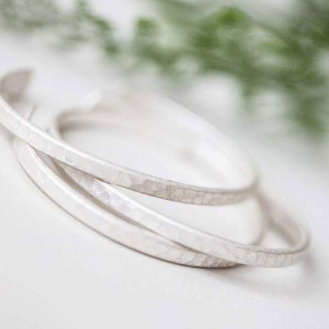 Tutti and Co Jewellery Belle Bracelet Set Of Three Bangles