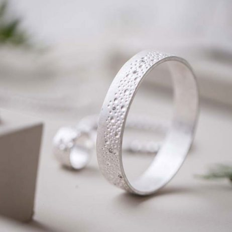 Tutti and Co Jewellery Annabella Bracelet Crystal And Dot Bangle