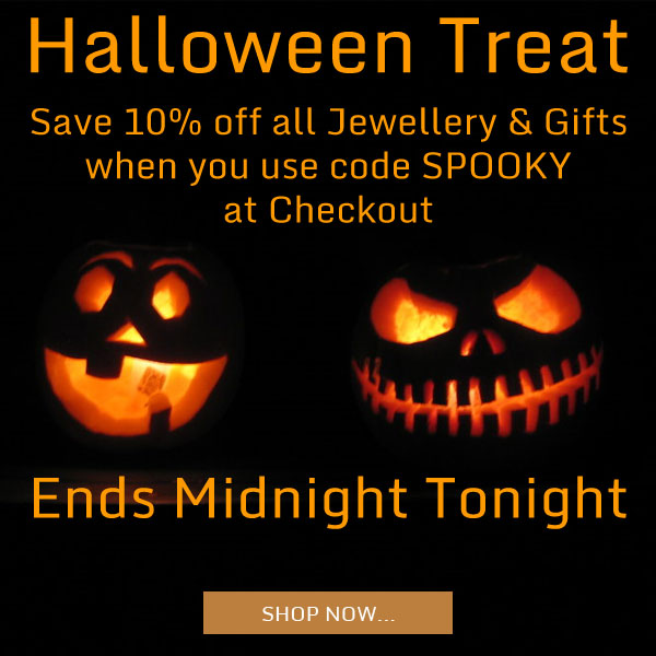 Save 10% on all Jewellery & Gifts - Ends Midnight!