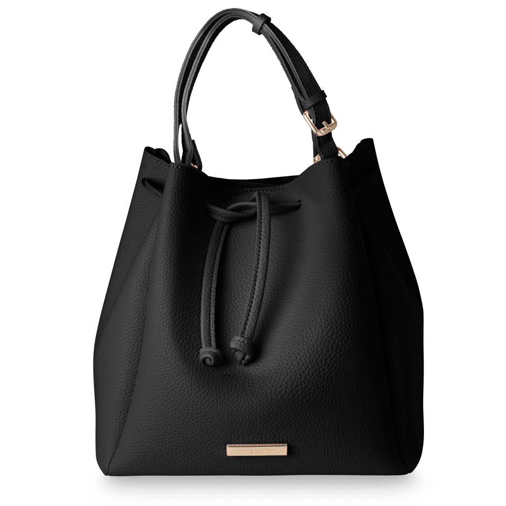 167c1d77cc Katie Loxton Chloe Bucket Bag Classic Black   - Lizzielane.com