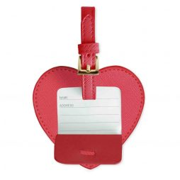 Katie Loxton Luggage Adventure Awaits Heart Luggage Tag Fuchsia Pink KLB170