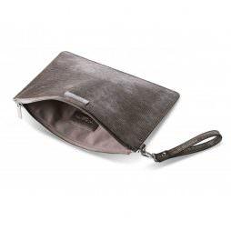 Katie Loxton Zara Large Clutch Bag Metallic Mocha KLB180