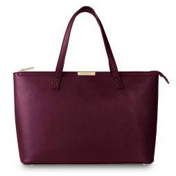 Katie Loxton Harper Tote Bag Burgundy KLB186