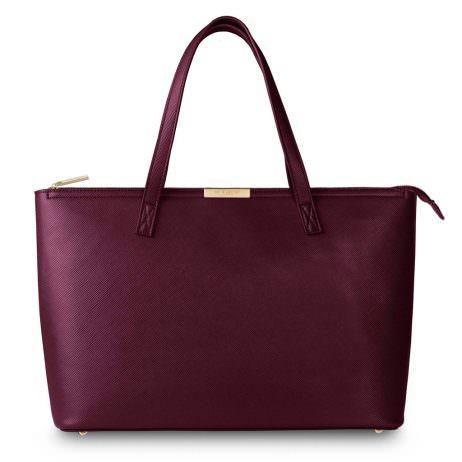 Katie Loxton Harper Tote Bag Burgundy - EOL