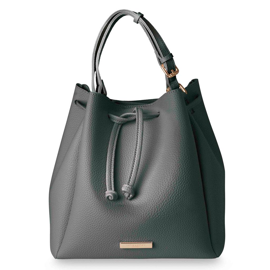 8f1660c583 Katie Loxton Chloe Bucket Bag Charcoal   - Lizzielane.com