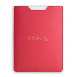 Katie Loxton Hello Lovely iPad Cover Fuchsia Pink