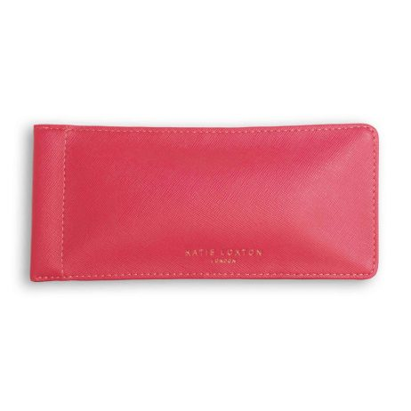 Katie Loxton Love at First Sight Glasses Sleeve Fuchsia Pink