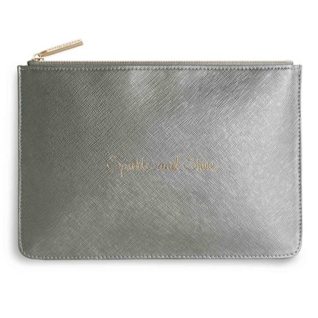 Katie Loxton Sparkle And Shine Handwritten Perfect Pouch EOL