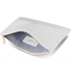 Katie Loxton Mrs Handwritten Perfect Pouch White KLB214