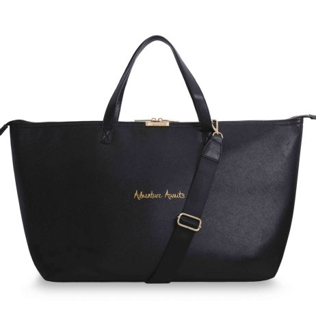Katie Loxton Adventure Awaits Weekend Bag Black KLB216