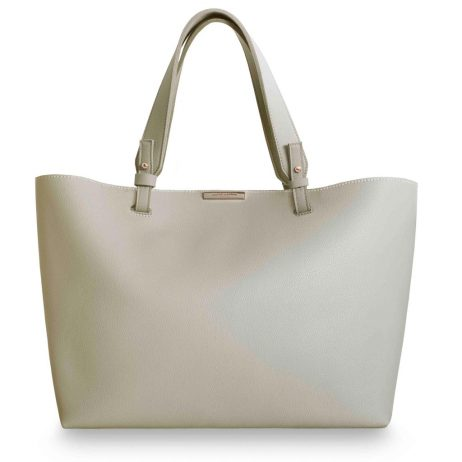 Katie Loxton Piper Soft Tote Bag Stone *