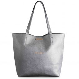 Katie Loxton Shine Bright Parker Shopper Bag Metallic Charcoal