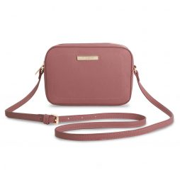 Katie Loxton Loulou Cross Body Bag Blush Berry Pink