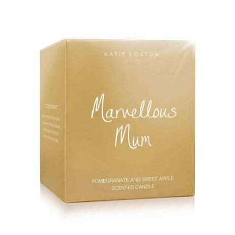 Katie Loxton Marvellous Mum Gold Candle