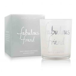 Katie Loxton Fabulous Friend Silver Candle