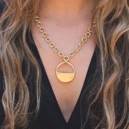 Danon Jewellery Inner Circle Gold Link Necklace