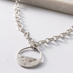 Danon Jewellery Inner Circle Silver Link Necklace