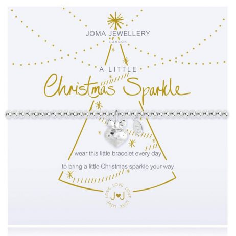 Joma Jewellery a little CHRISTMAS SPARKLE Silver Bracelet 2210