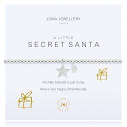 Joma Jewellery A Little Secret Santa Silver Star Bracelet 2285