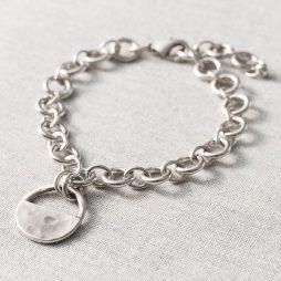 Danon Jewellery Inner Circle Silver Link Bracelet