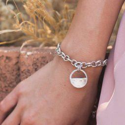 Danon Jewellery Inner Circle Silver Link Bracelet B3832S