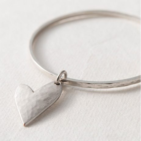 Danon Jewellery True Love Silver Heart Bangle