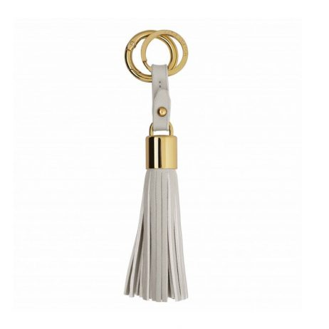 Katie Loxton Tassel Key Ring Grey KLB014 *