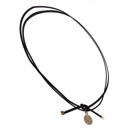 Hot Tomato Jewellery Choker Lariat Crystal Disc Necklace - EOL