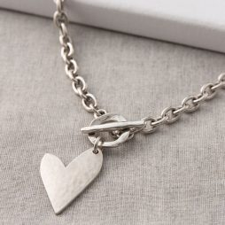 Danon Jewellery True Love Silver Heart Necklace