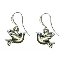 Hultquist Jewellery Silver Bird Earrings