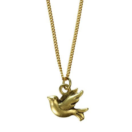 Hultquist Jewellery Gold Bird Necklace