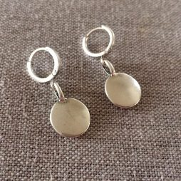 Hultquist Jewellery Silver Coin Urban Luxe Earrings