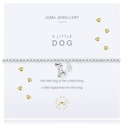 Joma Jewellery A Little Dog Silver Bracelet 2276