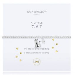 Joma Jewellery A Little Cat Silver Bracelet 2277
