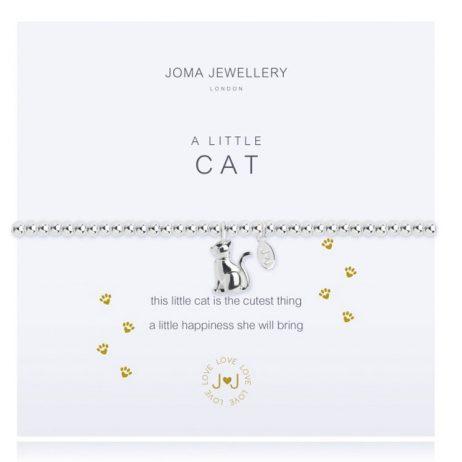 Joma Jewellery A Little Cat Silver Bracelet 2277
