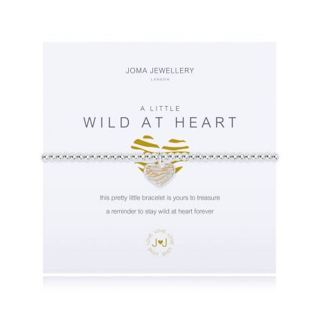 Joma Jewellery A Little Wild At Heart Silver Bracelet 2526
